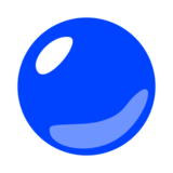 Blue Circle on emojidex 1.0.14