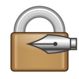 Locked With Pen on emojidex 1.0.14