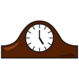 Mantelpiece Clock on emojidex 1.0.14