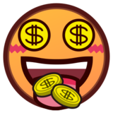 Money-Mouth Face on emojidex 1.0.14