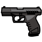 Pistol on emojidex 1.0.14