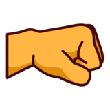 Right-Facing Fist on emojidex 1.0.14