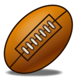 Rugby Football on emojidex 1.0.14