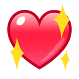 Sparkling Heart on emojidex 1.0.14