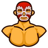 People Wrestling on emojidex 1.0.14