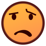 Anguished Face on emojidex 1.0.19