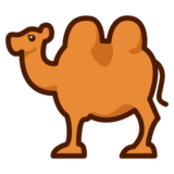 Two-Hump Camel on emojidex 1.0.19