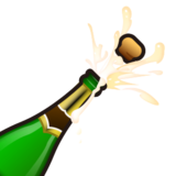 Bottle With Popping Cork on emojidex 1.0.19