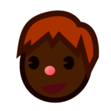 Boy: Dark Skin Tone on emojidex 1.0.19