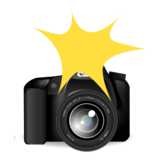 Camera with Flash on emojidex 1.0.19