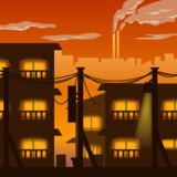 Cityscape at Dusk on emojidex 1.0.19