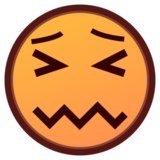 Confounded Face on emojidex 1.0.19