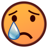 Crying Face on emojidex 1.0.19