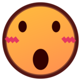 Face With Open Mouth on emojidex 1.0.19