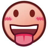 Face With Tongue on emojidex 1.0.19