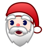 Santa Claus: Light Skin Tone on emojidex 1.0.19