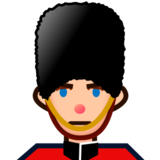 Guard: Medium-Light Skin Tone on emojidex 1.0.19