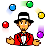 Person Juggling on emojidex 1.0.19