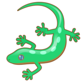 Lizard on emojidex 1.0.19