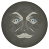 New Moon Face on emojidex 1.0.19