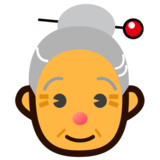 Old Woman on emojidex 1.0.19