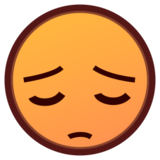 Pensive Face on emojidex 1.0.19