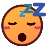 Sleeping Face on emojidex 1.0.19