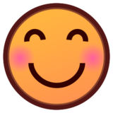 Smiling Face With Smiling Eyes on emojidex 1.0.19