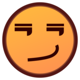 Smirking Face on emojidex 1.0.19