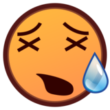 Tired Face on emojidex 1.0.19