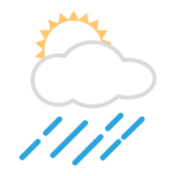 Sun Behind Rain Cloud on emojidex 1.0.19