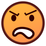Angry Face on emojidex 1.0.22