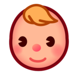 Baby: Medium-Light Skin Tone on emojidex 1.0.22