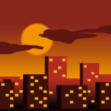 Cityscape at Dusk on emojidex 1.0.22