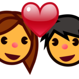 Couple with Heart on emojidex 1.0.22
