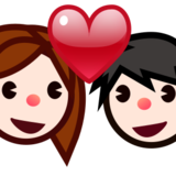 Couple With Heart, Type-1-2 on emojidex 1.0.22