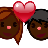 Couple With Heart, Type-6 on emojidex 1.0.22