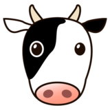 Cow Face on emojidex 1.0.22