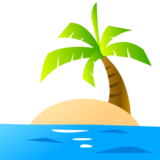 Desert Island on emojidex 1.0.22