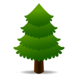Evergreen Tree on emojidex 1.0.22