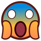 Face Screaming in Fear on emojidex 1.0.22