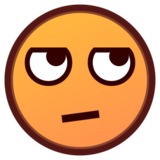 Face With Rolling Eyes on emojidex 1.0.22