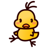 Front-Facing Baby Chick on emojidex 1.0.22