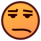 Frowning Face With Open Mouth on emojidex 1.0.22