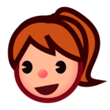 Girl: Medium-Light Skin Tone on emojidex 1.0.22