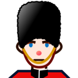Guard: Light Skin Tone on emojidex 1.0.22