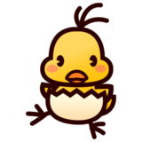 Hatching Chick on emojidex 1.0.22