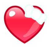 Heart With Ribbon on emojidex 1.0.22