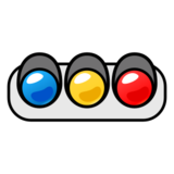 Horizontal Traffic Light on emojidex 1.0.22