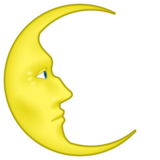 Last Quarter Moon Face on emojidex 1.0.22